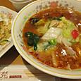 ピリ辛味噌五目麺