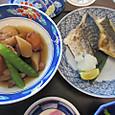 焼き塩鯖と筑前煮