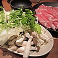豚しゃぶの野菜