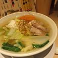 京都信長ラーメンの野菜拉麺
