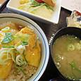 ミニ天津飯定食