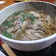 近江牛すじ蕎麦