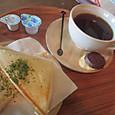 近江の珈琲とサンドイッチ