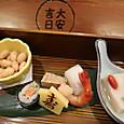 大安吉日箱入りの前菜