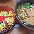 お寿司と蕎麦