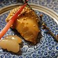懐石の魚の味噌漬け