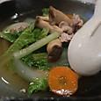 山東菜と豚肉の和風煮