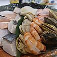 寄せ鍋の魚介