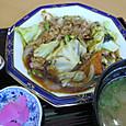豚肉とキャベツの胡椒炒め
