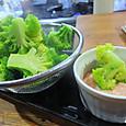 ブロッコリーの明太マヨ