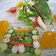 春野菜のテリーヌ風仕立て