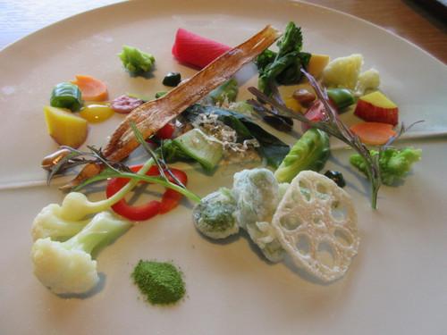春野菜の前菜