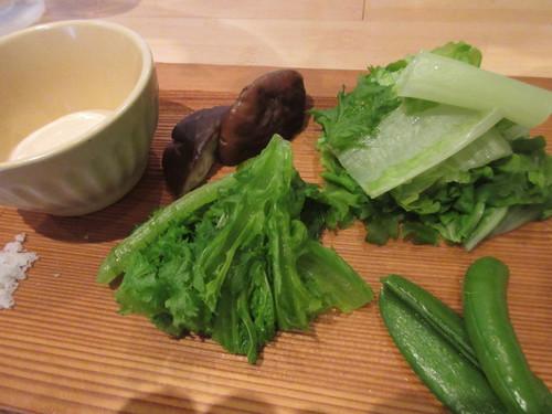 蒸し野菜盛り合わせ