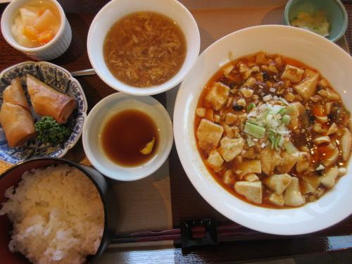 四川麻婆豆腐セット